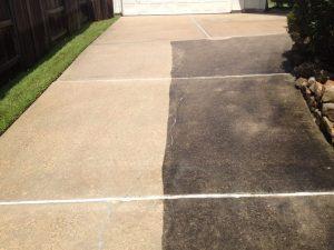 Power Washing Concrete Driveway Cleaning Desert Carpet
